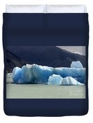 Beauty Of Icebergs Patagonia 6 Duvet Cover