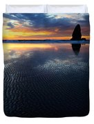Beauty Of Oregon Cannon Beach 1 Duvet Cover