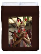 Beauty Of The Barong Dance 1 Duvet Cover