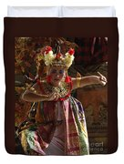 Beauty Of The Barong Dance 2 Duvet Cover