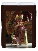 Beauty Of The Barong Dance 3 Duvet Cover