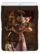 Beauty Of The Barong Dance 4 Duvet Cover