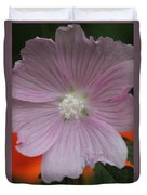 Beauty Of The Hollyhock  Duvet Cover
