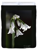 Beauty Of The Snowdrops Duvet Cover