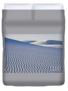Patterns White Sands New Mexico Duvet Cover