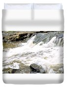 Beauty On The Eno River Duvet Cover