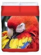 Beauty Scarlet Duvet Cover