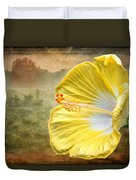 Beauty Served Two Ways Duvet Cover