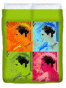 Beauty Times Four Two Duvet Cover