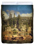 Beauty You Find Along The Way Duvet Cover