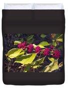 Beautyberry Duvet Cover