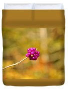 Beautyberry Duvet Cover