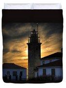 Beavertail Lighthouse Too Duvet Cover