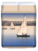 Becalmed Duvet Cover