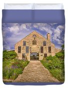 Becker Vineyards Winery Duvet Cover