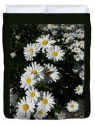 Bed Of Daisies Duvet Cover