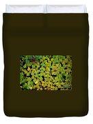 Bed Of Sedum Duvet Cover
