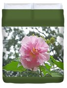 Bedazzled By The Light Louisiana Confederate Rose Duvet Cover
