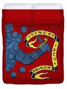 Bedford Flag, 1775 Duvet Cover