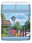 Bedford Village Pennsylvania Duvet Cover