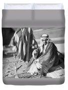 Bedouins In Jordan Duvet Cover