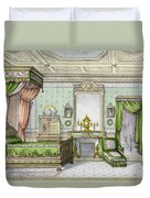 Bedroom In The Renaissance Style Duvet Cover