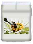 Bee All That You Can Bee Duvet Cover