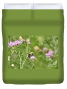 Bee And Thistle Duvet Cover