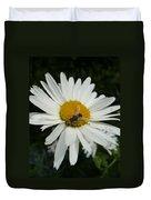 Bee Daisy Duvet Cover