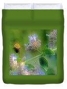 Bee In Catmint Duvet Cover
