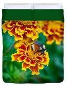 Bee My Friend Miss Marigold Duvet Cover