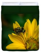 Bee On A Quest Duvet Cover