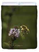 Bee Pollination Duvet Cover