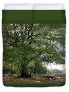 Beech Tree Britain Duvet Cover