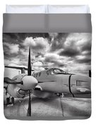 Beechcraft C-12 Huron Duvet Cover