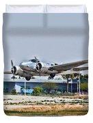 Beechcraft D-18 Duvet Cover