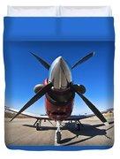 Beechcraft T-6a Texan II  Duvet Cover