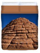 Beehive Valley Of Fire State Park Nevada Duvet Cover