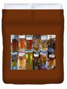 Beers Of Europe Duvet Cover
