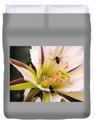 Bees In Blossom Duvet Cover