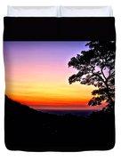 Zambia - Just Before Sunrise  Duvet Cover