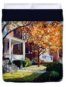 Before The Snow Falls Duvet Cover