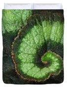 Begonia Leaf 2 Duvet Cover