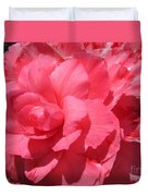 Begonia Named Non-stop Pink Duvet Cover
