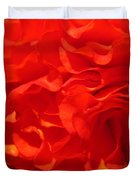 Begonia Named Nonstop Apricot Duvet Cover