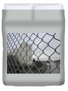 Behind Bars Duvet Cover