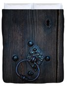 Behind Locked Doors Duvet Cover