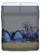 Behind The Barn Duvet Cover