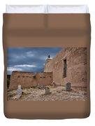 Behind The Church Duvet Cover