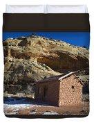 Behunin Cabin Capitol Reef National Park Utah Duvet Cover